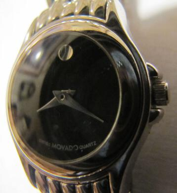 Movado Swiss Museum Black Face Women